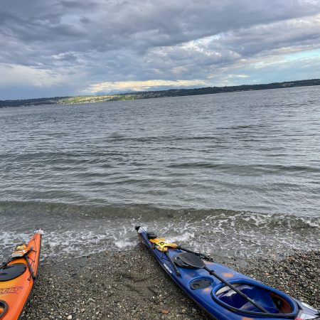 The calm after the storm: landed at Maury Island Marine Park